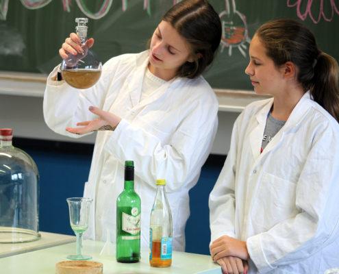 Chemie Unterricht Steinmühle