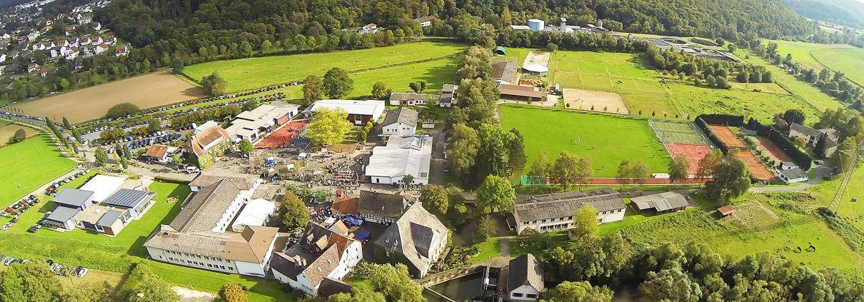 Steinmühle von oben